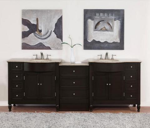 to the top five bathroom vanity brands for a large master bathroom