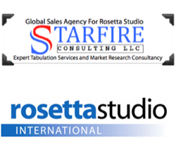 Starfire Consulting and Rosetta Studio logos
