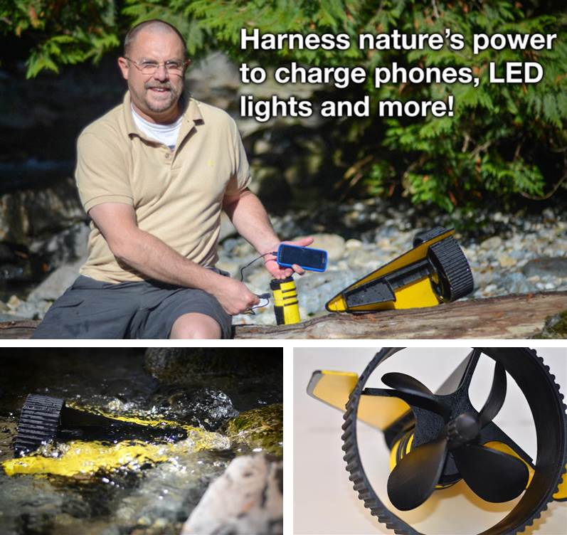 Hydrobee Spc Launches Portable Usb Hydropower Turbine To