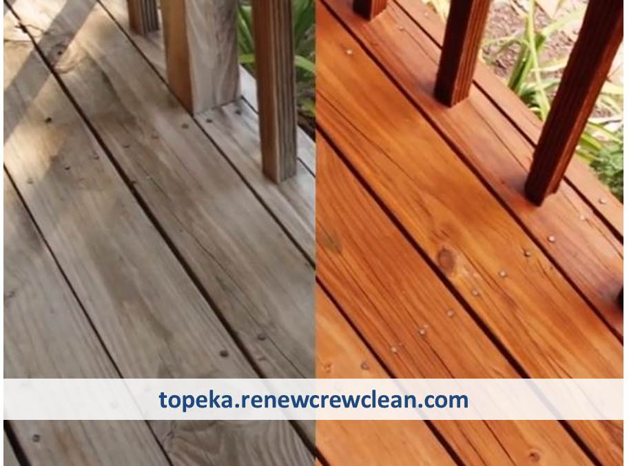Top Deck Cleaning And Staining Provider In Topeka Kansas