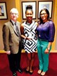 Michael Spring, Director, Miami-Dade County Department of Cultural Affairs, Jori Opara, Culture Shock Miami Student Councilor, Christina Tassy-Beauvoir, Culture Shock Miami Program Administrator