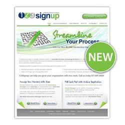 Member Management Software Provider, 123Signup, Releases New Website
