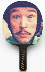 Custom Table Tennis Racket by PaddleYou, Made in New York