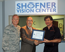 Dr. Stewart Shofner Received Patriot Award
