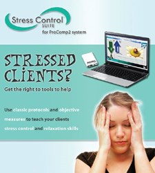 stress control, biofeedback, thought technology