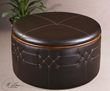 uttermost brunner, storage ottoman 23008. accent furniture