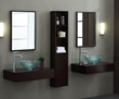 "WC-BLOX-60DW - BLOX Wall Shelf - 60"" Dark Walnut - Xylem"