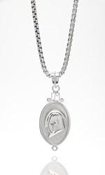 Lucky silver pendant for SCTR by Jill Milan