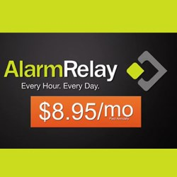 Low Cost Alarm Monitoring from Alarm Relay