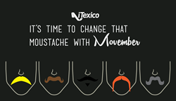 iTexico supports Movember for heatlh awareness for mobile app developers