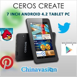 'ceros create' android tablet