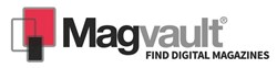 A logo used by Magvault.com, a new UK magazine portal