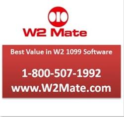 W2 Mate W2 / 1099 Print & E-File Software