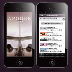 Apogee Jets Mobile App