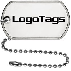 custom dog tags, ball chain necklaces, dog tag chains