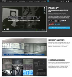 Final Cut Pro X Effects, FCPX Plugin and Filters, Video Special Effects, Security Camera, Pixel Film Studios, PROCCTV