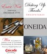 Oneida LTD. and Anchor Hocking Announce Dishing Up Thanks Facebook...