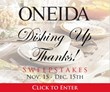Oneida Facebook Sweepstakes