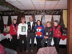 Shopping in Aurora - Ugly Sweater Contest - On Havana Street