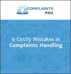 9 costly mistakes in complaints handling