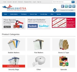www.mailersusa.com NEW LOOK!