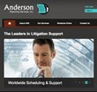 Ohio Court Reporting and Videoconference Provider, Anderson Reporting...