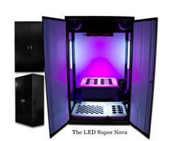 The SuperNova is the  Largest LED Grow Box in the World