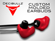 Decibullz 2.0, Custom-Molded Earbuds, Announces New Crowdfunding...