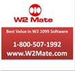 W2 Mate W2 / 1099 Print & E-File Software
