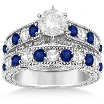 Allurez.com has a large selection of bridal sets including diamond and gemstone styles.