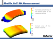 Example of the ShaPix Full 3D Measurement of a Brake Pad
