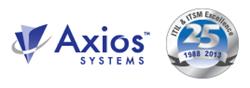 Axios Logo 25 Years