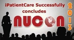 iPatientCare Successfully Concludes NUCON 2013