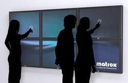 Interactive Multi-Touch Video Wall