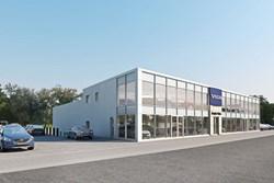 Smythe Volvo New Building