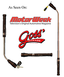 motorweek goss' garage extendable magnetic flashlight