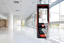 Leica DISTO D810 touch laser distance meter with touch screen