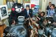 Kumamoto Governor and Kumamon