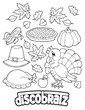 The DiscoBratz Thanksgiving Feast Coloring Page is Here