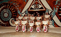 Local Mayan Dance Group from Celestun