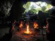 Mayan Ritual in Cave Cenote Yucatan
