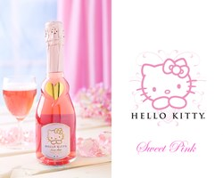 Hello Kitty Sweet Pink Wine