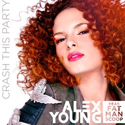 Alex Young Crash This Party Featuring Fatman Scoop Artwork