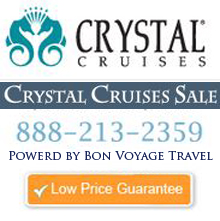 Crystal Cruises Sale