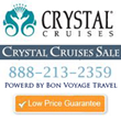 CrystalCruisesSale.com Announces Crystal Cruises' First Ever Luxury...