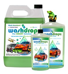 Gallon size Washdrops bottle