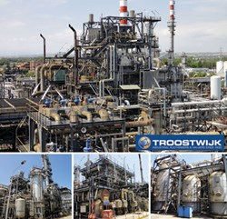 Syngas gasification plant