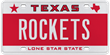 ROCKETS personalized Texas license plate sold at auction for $16, 500 in January 2013.
