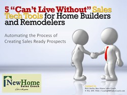 New Home Sales Coach, training for home builders, Rick Storlie