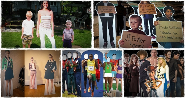 life size cardboard cutouts